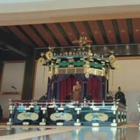 Emperor Naruhito proclaims his accession to throne 2019年10月22日