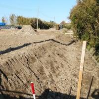 Newプロジェクト!!『 日在海岸すぐそばの土地 』約600坪4区画プラン、予定通り造成工事開始しました!!
