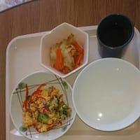 1月9日  病院の昼食
