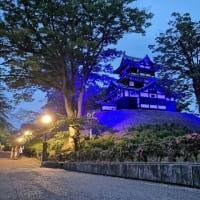 にいがた結プロジェクト ~高田城三重櫓ブルーライトアップ~