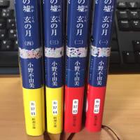 小野不由美_十二国記『白銀のおか 玄の月1巻~4巻』を読了