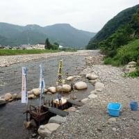 越後湯沢魚野川鮎、遠征最終日