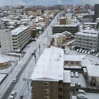 雪の始業式