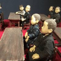 「安部朱美ふたたび」安来市加納美術館での対話型鑑賞会②(2019,8,24開催)