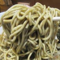 濃厚煮干し(セメントスープ)効きますね!骨の髄までビンビンきちゃいました。