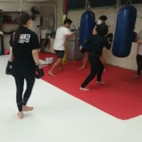 (金)キックボクシング初級&柔術打ち込み