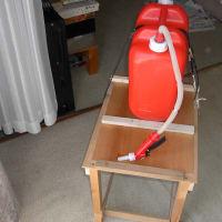 灯油ファンヒーターの給油キット(反復横倒し式の提案ー2)