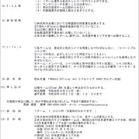 〔お知らせ〕3x3日本選手権山口県予選 出場チーム募集(締切9/20)