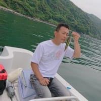 博多湾でボート釣り♪