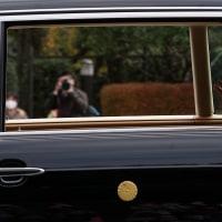 議会開設百三十年記念式典開かる、マスク姿の天皇皇后両陛下、眞子内親王殿下も国会正門からお入りになられる