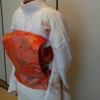 令和元年7月21日の出張着付は堺市南区、絽の訪問着の着付&ヘアセットでした。