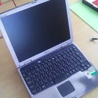 マイPC二台め:Sharp社製 Mebius PC-CB1-R1S