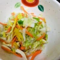白菜たっぷり水餃子(⋈◍>◡<◍)。✧♡ 今晩の献立