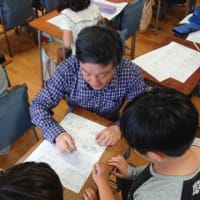 5月21日石神井台小学校の指導の風景