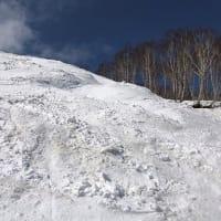 2021スキー16日目かぐらスキー場でファースト・トラック