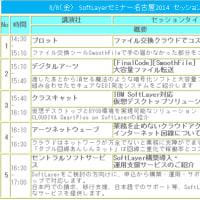 8/8 SoftLayerセミナー名古屋2014にてプレゼンします