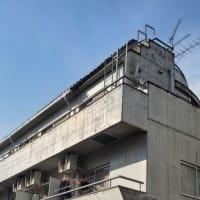 打放しコンクリート集合住宅の化粧なおし~!!