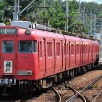 名鉄  喜多山(2012.8.19) 6026F 準急 尾張瀬戸行き 行先系統板