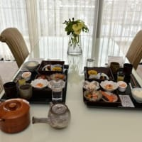 ホテル ラ・スイート神戸ハーバーランド*和朝食をお部屋で