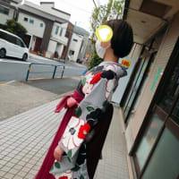 大学のご卒業おめでとうございます🌸袴☆彡きもの☆古典柄がお洒落ですねෆ