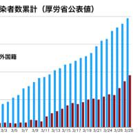 このところの「日本国内の感染者」の半数は外国籍の人々?