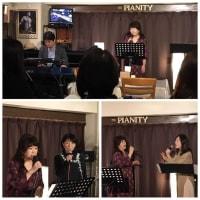 1月25日(土)の午後は、近藤みよ子(vo)さんのライブでした!
