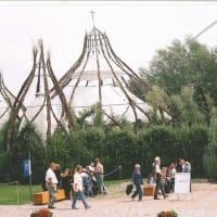 柳で作った大きな教会(Cathedral)