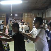 ふるさとを担う若者たち ~台風接近のなか盆踊りが盛り上がる~