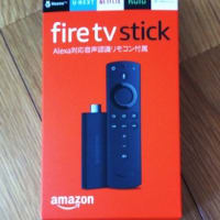 Amazon fire tv stick買いました