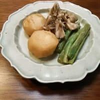 昔ながらの小さなおかずで晩酌・山菜や練り物で