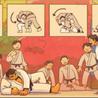 【Googleのロゴ】嘉納治五郎 生誕106周年