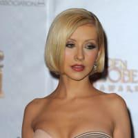 クリスティーナ・アギレラ @Golden Globe Awards~1/17
