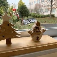S病院のクリスマスディスプレイ
