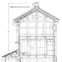 「第Ⅳ章ー3-B3 西川家」 日本の木造建築工法の展開