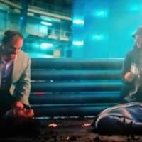 切り株画像(映画『シティーハンター THE MOVIE 史上最香のミッション』より、「心肺停止、人工呼吸開始、気道確保!」「確保出来ません!!」)