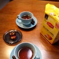 夜をくつろぐ・whiskey tea、オレンジ薫る