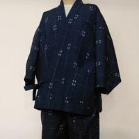 ウールの着物から作務衣(オーダー)