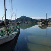 朝の不知火海と計石港