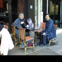 島さん鵜山さんと会ったパリ