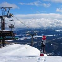 雪の少ない栄村へ