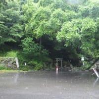 2019年7月11日(木) 伊吹山は暴風雨。関ヶ原鍾乳洞、関ヶ原分厰へ!