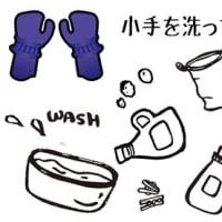 小手を洗ってみよう!