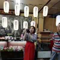 8.飯田城でショッピングタイム