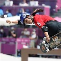 スケートボード女子パーク 四十住さくらが初代女王! 12歳・開心那は銀メダル