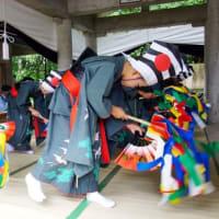踊り子の舞 (立神宇気比神社)