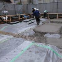 国立アパート新築工事の現場報告