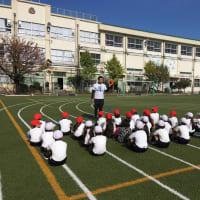 足立区立古千谷小学校でリングビーの出張授業