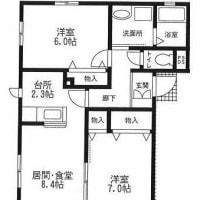 寒川駅 2LDK貸マンション 南西角部屋!