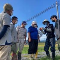 株式会社宮城リスタ大川で水稲刈り取りに向けた研修会を開催しました