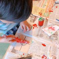 幼児さんクラスは、木工です。